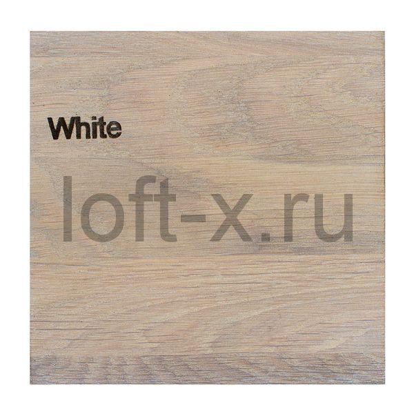 Тонировка дуба - цвет White